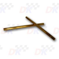 Eléments de direction -  - M8x255mm - gold | Direct-karting.com
