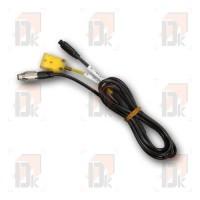 Câble de liaison 2T TC/TR AIM - MyChron5 (jaune/noir)