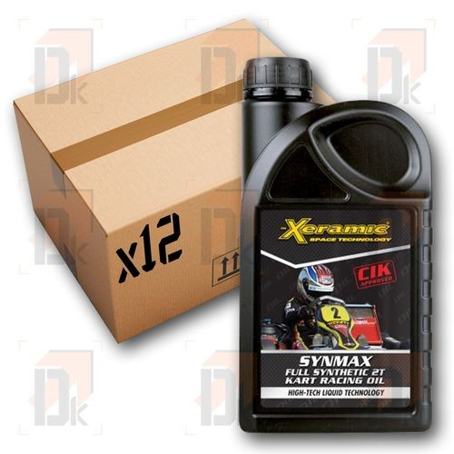 Lubrifiant moteur - XERAMIC - Synmax 2T - x12 | Direct-karting.com