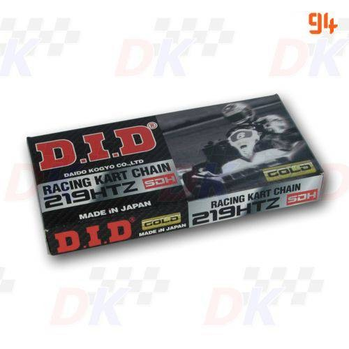 Chaînes DID 219 - DID - 219 HTZ | Direct-karting.com