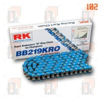 Chaînes RK 219 - RK Chains - BB 219 KRO | Direct-karting.com