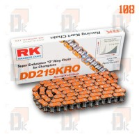 Chaînes RK 219 - RK Chains - DD 219 KRO | Direct-karting.com