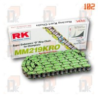 Chaînes RK 219 - RK Chains - MM 219 KRO | Direct-karting.com