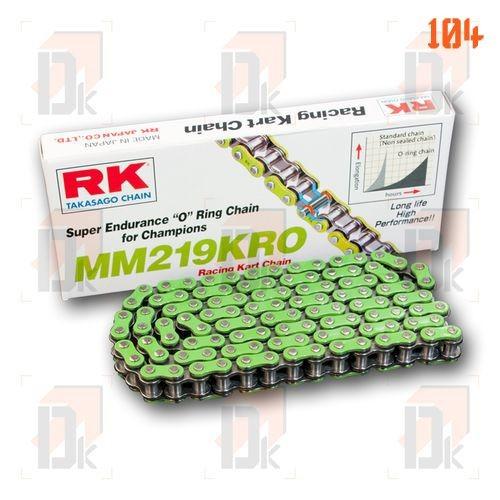 Chaînes RK 219 - RK Chains - MM 219 KRO | Direct-karting.com