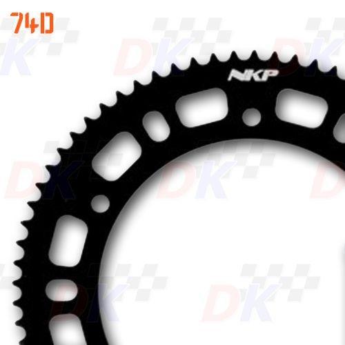 Couronnes 219 - NKP - Aluminium 7075 T6 / Noir | Direct-karting.com