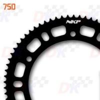 couronne-219-75-dents-nkp-aluminium-7075-t6-noir