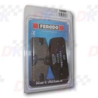 Plaquettes arrière - FERODO - Divers | Direct-karting.com