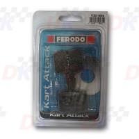 Plaquettes arrière - FERODO - OTK BS6 | Direct-karting.com