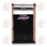 Rideau pour radiateur X30 format standard (coloris noir)
