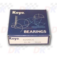 Roulements moteur - KOYO - 6205-C4 / FG-P5 | Direct-karting.com