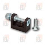 support-fixation-pompe-eau-anodise-noir